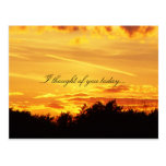 I thought of you today... postcards