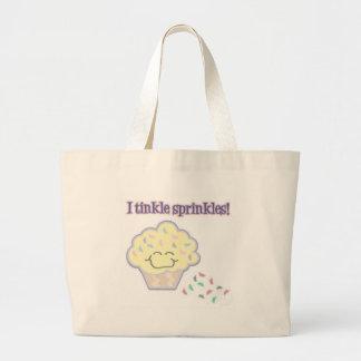 I Tinkle Sprinkles Large Tote Bag