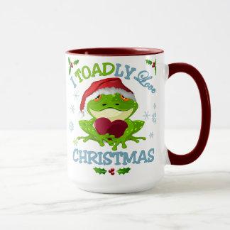 I Toadly Love Christmas Mug