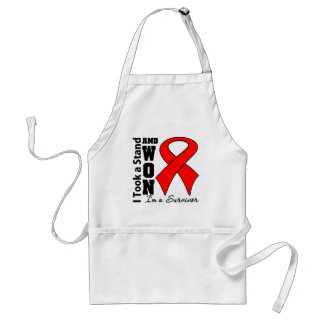 I Took a Stand and Won Vasculitis Survivor Aprons