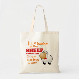 """I Traded in the Sheep Collection"" Game Tote Bag"