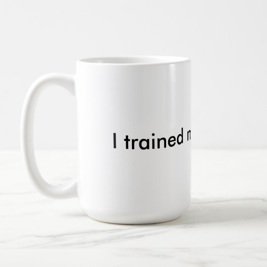 I trained my brain to win - insulated coffee mug