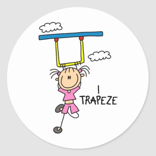 I Trapeze Stickers