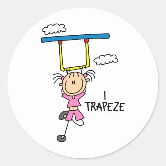 I Trapeze Stickers