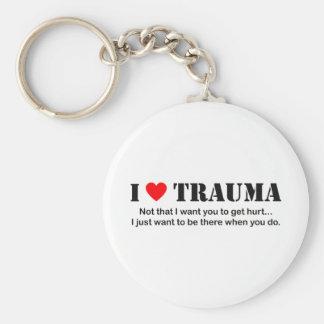 I ♥ Trauma Key Chain