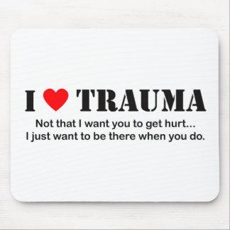 I ♥ Trauma Mouse Pad