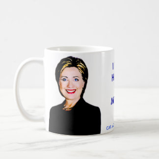 """I Trust: Hillary and My Cat"" Mug. #ImWithPurr Coffee Mug"