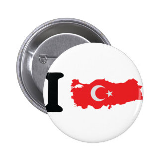 I turkey icon pinback button