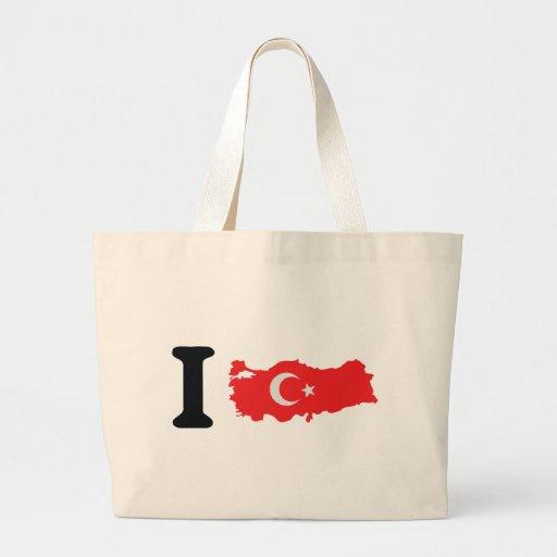 I turkey icon tote bag