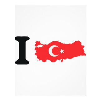 I turkey icon flyer design