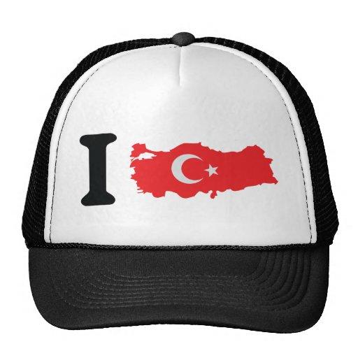 I turkey icon trucker hats
