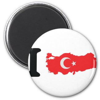 I turkey icon fridge magnets