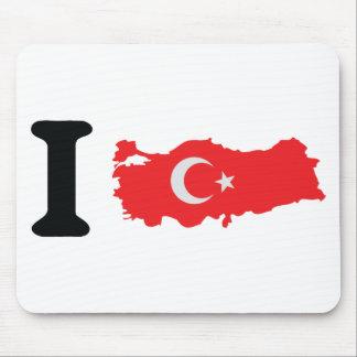 I turkey icon mousepad