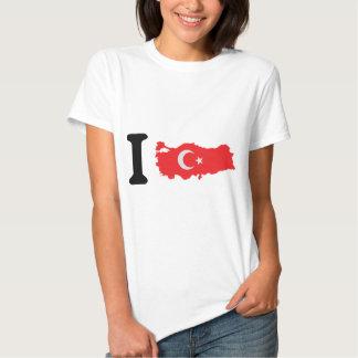 I turkey icon tee shirts