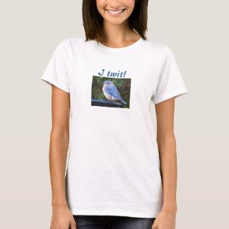I twit! bluebird shirt
