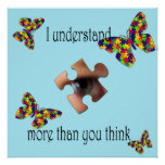I understand poster