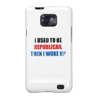 I used to be Republican, then I work up Faded.png Galaxy SII Covers