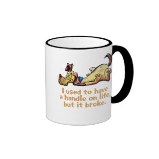I Used to Have a Handle on Life Mugs
