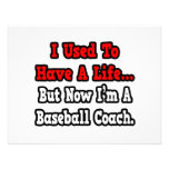 I Used to Have a Life...Baseball Coach Personalized Invitations