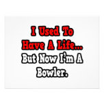 I Used to Have a Life...Bowler Personalised Invitation