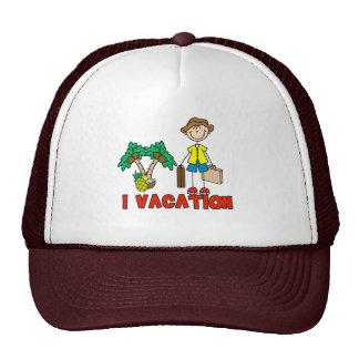 I Vacation Hat