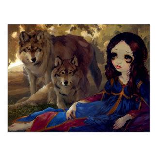 I Vampiri I Lupi Postcard