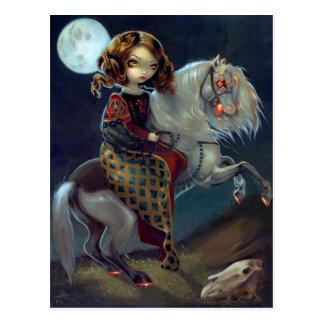 """I Vampiri:  Notte a Cavalla"" Postcard"