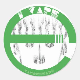 i vAPE Classic Round Sticker