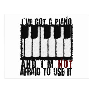 I ve Got a Piano Post Cards