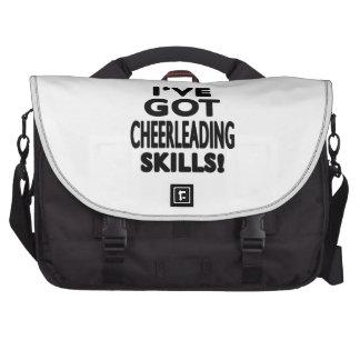 I ve Got Cheerleading Skills Laptop Messenger Bag