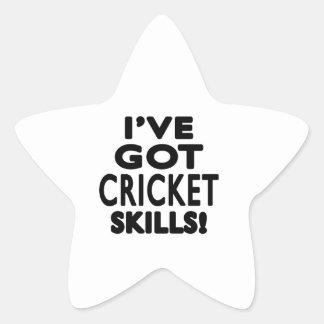 I ve Got Cricket Skills Sticker