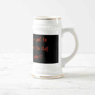 I ve got you the rock you stay alive coffee mugs