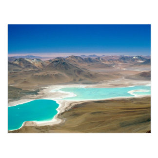 I visited Laguna Verde in Bolivia! Postcard