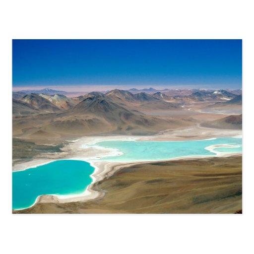 I visited Laguna Verde in Bolivia! Post Cards