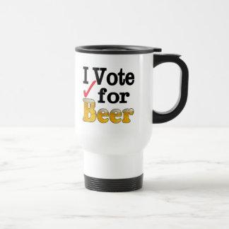 I Vote for Beer Coffee Mug