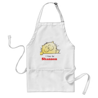 I Vote For Shannon Aprons
