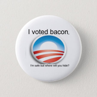 I voted bacon Button