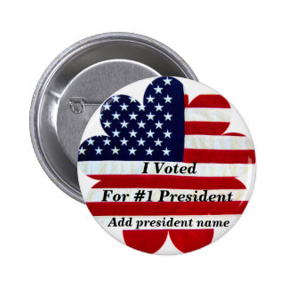 I Voted_ Button