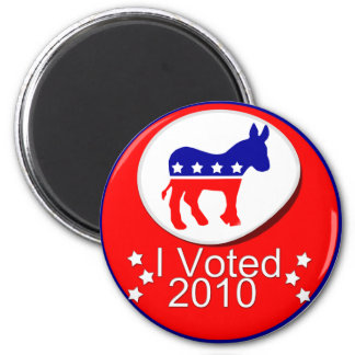 I Voted Democratic in 2010! Magnet
