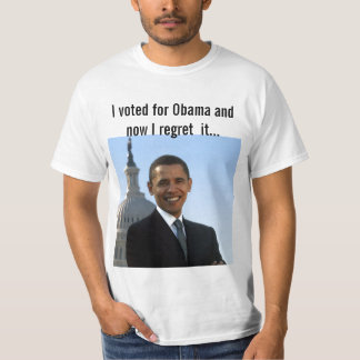 I Voted for Obama Tee Shirt
