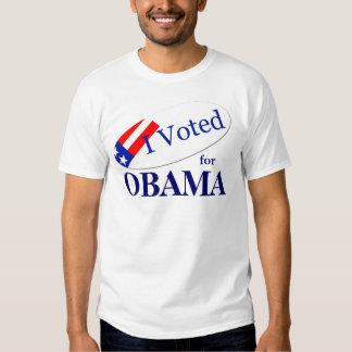 I voted for OBAMA Tshirt