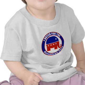 I Voted for Republican the Party Tshirt