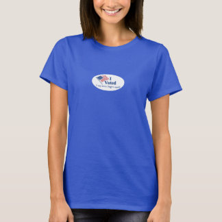 I Voted I May Never Forgive Myself Funny Election T-Shirt