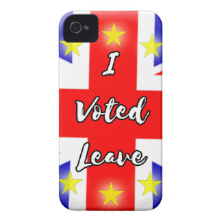 i voted leave Case-Mate iPhone 4 case