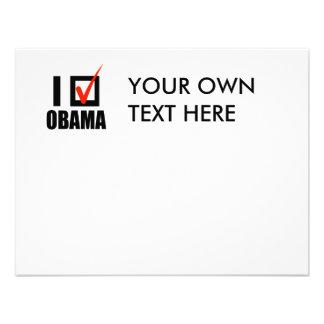 I Voted Obama T-shirt Invitations