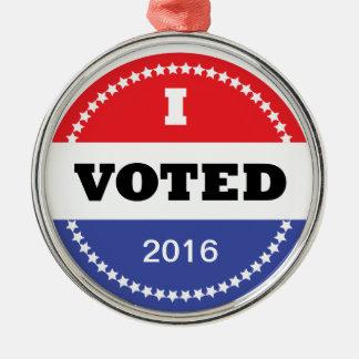 I Voted Ornament