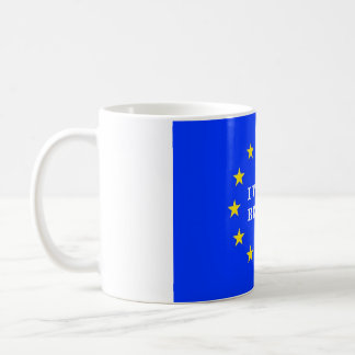 I VOTED REMAIN EU MUG