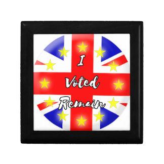I voted Remain History Gift Box