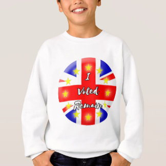 I voted Remain History Sweatshirt