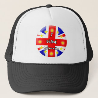 I voted Remain History Trucker Hat
